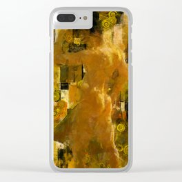 I'm Waiting for You (male) Clear iPhone Case
