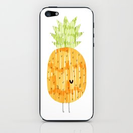 EAT YOUR FRUIT! // PINEAPPLE iPhone Skin