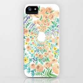 in the valley iPhone Case