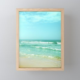 Vintage summer Framed Mini Art Print