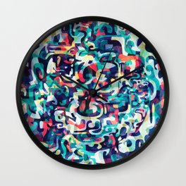 I Love Everything About You Wall Clock
