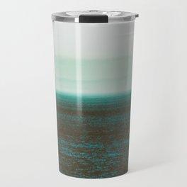 Sea front green Travel Mug