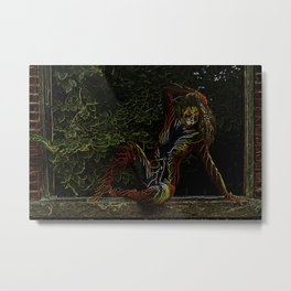 Neon  Tigress Metal Print