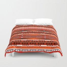 Ethnic stripes. Tribal pattern Indians. Duvet Cover