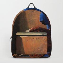 Untitled (The Accountant) by Zdzislaw Beksinski Backpack