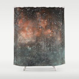 Fire beyond the Ashes Shower Curtain