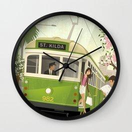 Melbourne Tram Wall Clock