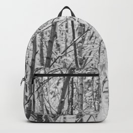 Woodland snow Backpack