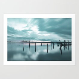 The Ocean Braviken 2 Art Print