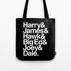 The Bookhouse Boys (Black Lodge) Tote Bag