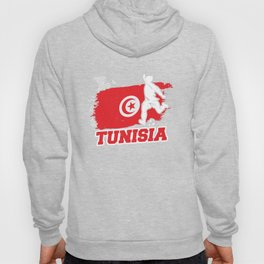 Football Worldcup Tunisia Tunisian Soccer Team Sports Footballer Rugby Gift Hoody
