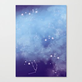 (K)Onstela Canvas Print