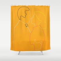 casablanca Shower Curtains featuring Casablanca by Fräulein Fisher