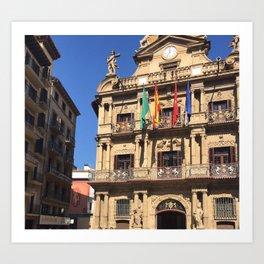 Pamplona Art Print
