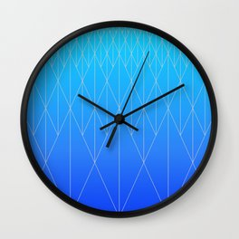 Neo Rhombs Wall Clock