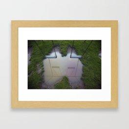 Binary Framed Art Print