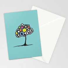 Bird on a tree Stationery Cards