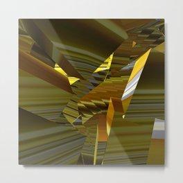 Shattered Shards Metal Print