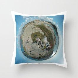 Planète Throw Pillow
