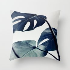 botanical vibes II Throw Pillow