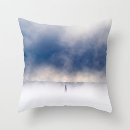 Sea Smoke 2 Throw Pillow