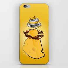 Sweet Cheesus iPhone & iPod Skin
