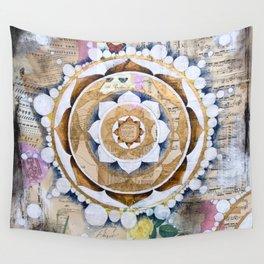 Music Mandala Wall Tapestry