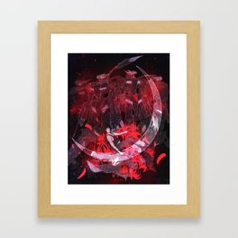 Crescent Moon | Mikazuki Framed Art Print