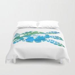 Mother Earth II Duvet Cover