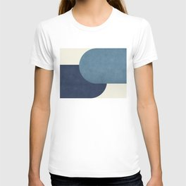 Halfmoon Colorblock - Blue T-shirt
