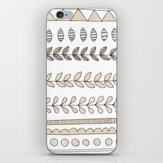 Pastel Patterns - Natural iPhone Skin