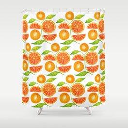 Juicy Grapefruits Shower Curtain