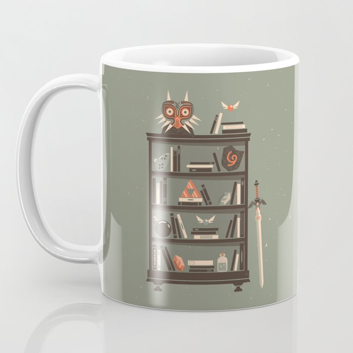 Zelda Shelf // Miyamoto Coffee Mug