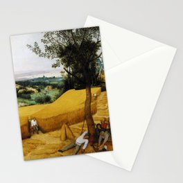 The Harvesters by Pieter Bruegel the Elder (1565) Stationery Cards