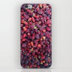 Berries in Paloquemao - Bayas en Paloquemao iPhone & iPod Skin