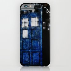 8 Bit Pixelated Tardis Doctor Who iPhone 6s Slim Case