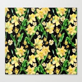 Narcissus' Garden Canvas Print