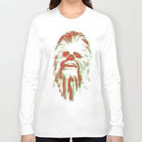 chewbacca Long Sleeve T-shirts featuring Chewbacca by mangen
