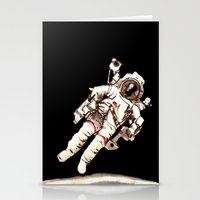 astronaut Stationery Cards featuring Astronaut by Kristin Frenzel