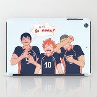 haikyuu iPad Cases featuring impressed  by viria