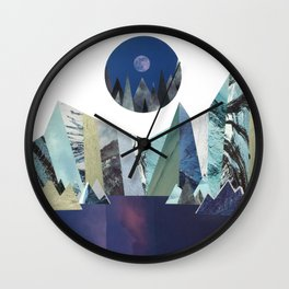 Lunar Lake Wall Clock