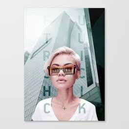 Shopping mode on Canvas Print