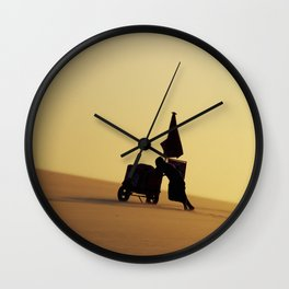 Up the hill Wall Clock
