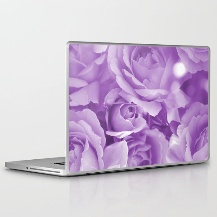 Violet Rose Bouquet For You - Valentine's Day #decor #society6 #homedecor Laptop & iPad Skin