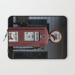 Fire Chief Gas Pump Laptop Sleeve