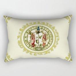 Magic Candle Rectangular Pillow