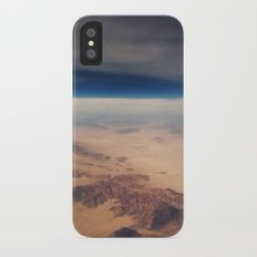 Surface of the Moon iPhone X Slim Case
