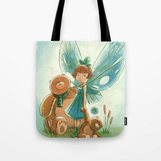 Goblins Drool, Fairies Rule! - Baby Blue Tote Bag