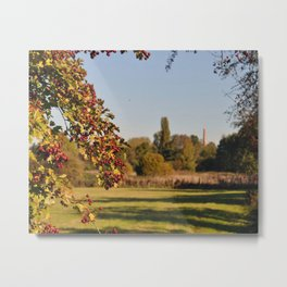 The distant Mill Metal Print