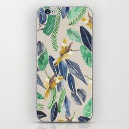 Bird Garden Vintage 02 iPhone Skin